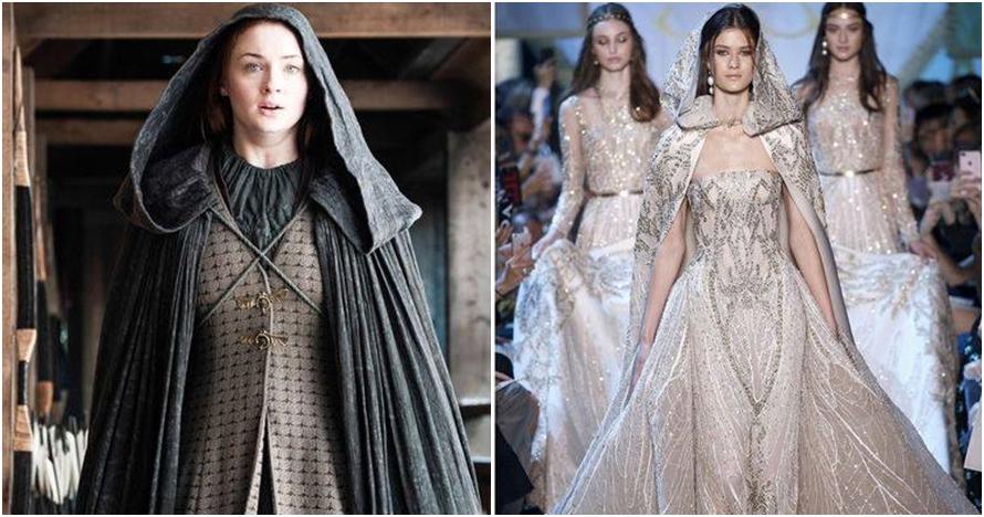 8 Gaun terbaru Elie Saab ini mirip di Game of Thrones, terinspirasi?