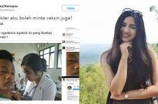 10 Potret wanita cantik di balik foto viral 'Bu dokter minta vaksin'