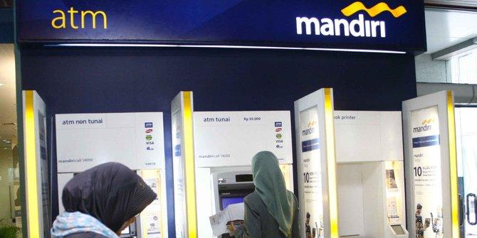 Semua ATM Bank Mandiri yang offline bisa normal pada 1 September