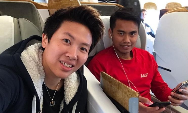 Status Liliyana Natsir naik pesawat kelas bisnis ini kocak