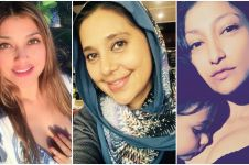 7 Foto penampilan trio Azhari kini tanpa makeup tebal, lebih menawan?