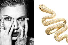 Usai luncurkan single baru, Taylor Swift rilis item fashion serba ular