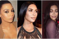 5 Cewek ini disebut 'kembaran' Kim Kardashian, asli atau oplas nih?
