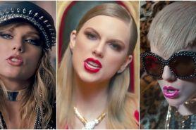 16 Gaya makeup & rambut Taylor Swift dalam satu video klip terbarunya