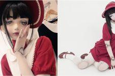 10 Potret Lulu Hashimoto, boneka hidup yang jadi model di Jepang