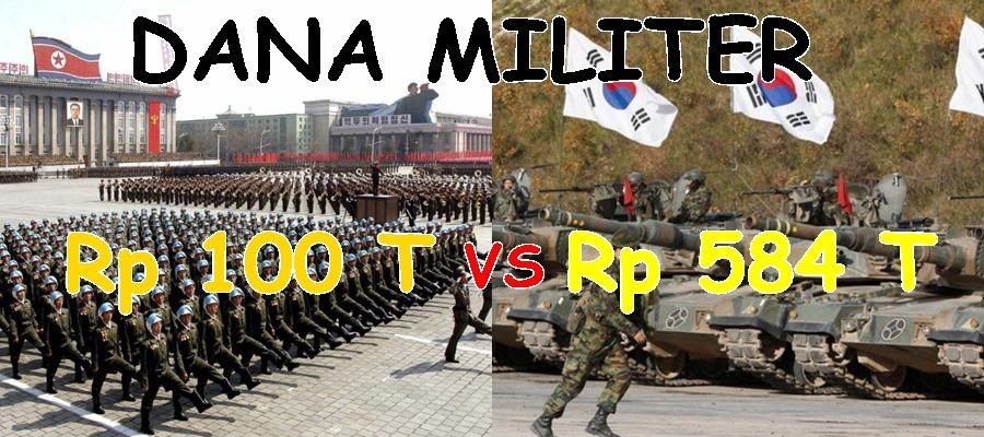 Memanas, ini perbandingan kekuatan militer Korut dan Korsel