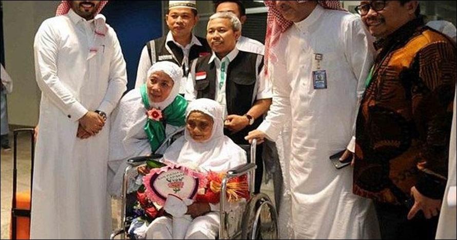 Kisah jemaah haji tertua asal Indonesia, dapat perhatian Raja Salman