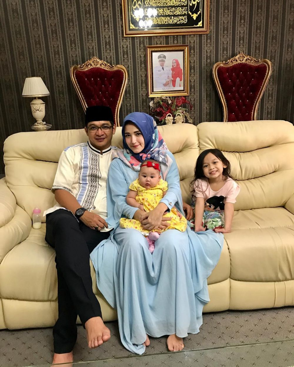 Gaya 10 Seleb Indonesia Rayakan Idul Adha, Kompak Pakai