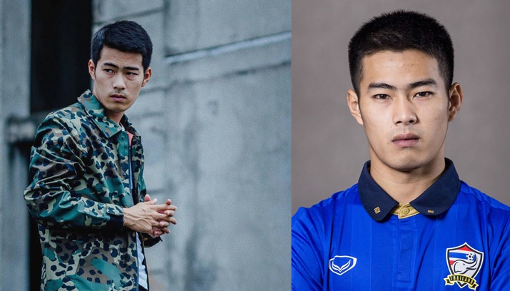 Jadi model, ini 5 gaya keren Sarach Yooyen pemain bola timnas Thailand