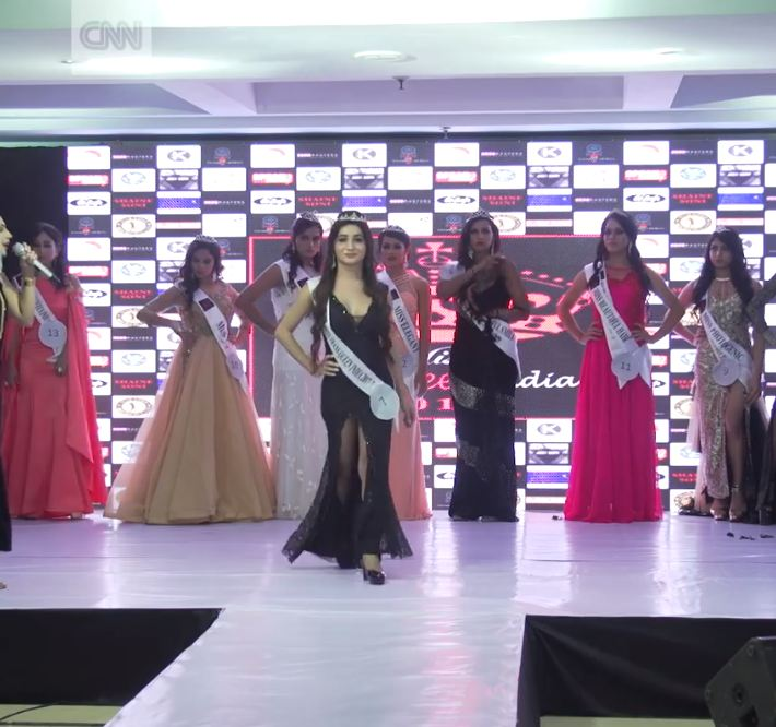 Yuk intip kemeriahan ajang Miss Transqueen di India