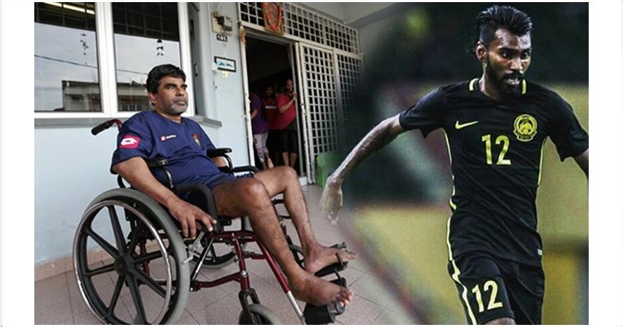 Kisah hidup striker Timnas Malaysia Thanabalan ini bikin terenyuh