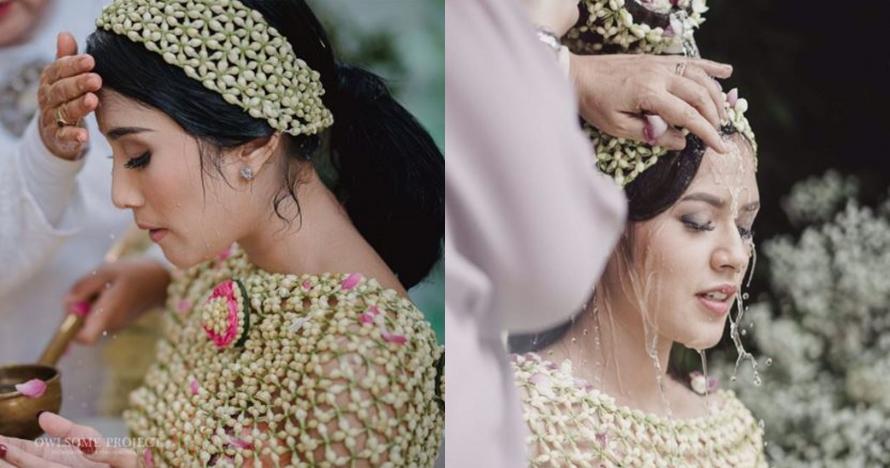 Potret cantiknya 7 seleb Tanah Air saat acara siraman jelang nikah