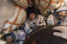 Astronot perempuan ini top, 9 bulan lebih tinggal di luar angkasa