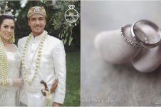 Ini penampakan cincin kawin Raisa dan Hamish, harganya bikin melongo