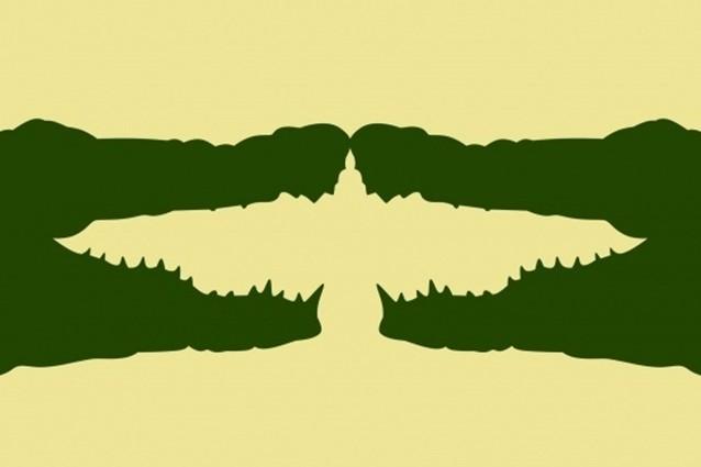 Hewan apa yang pertama kamu lihat di 4 gambar ini?