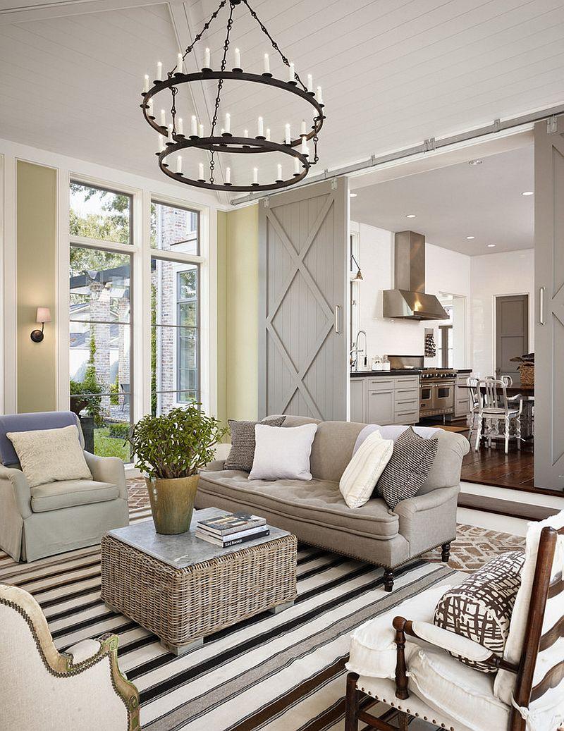 12 Desain Ruang Tamu Pakai Pintu Geser Cocok Buat Rumah Minimalis