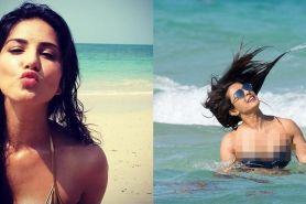 Ekspresi 10 seleb Bollywood saat liburan di pantai ini bikin gemes