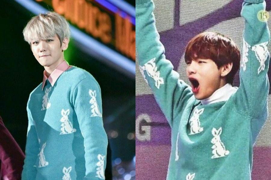Ini deretan Idol K-Pop cowok beda grup yang pernah kembaran baju