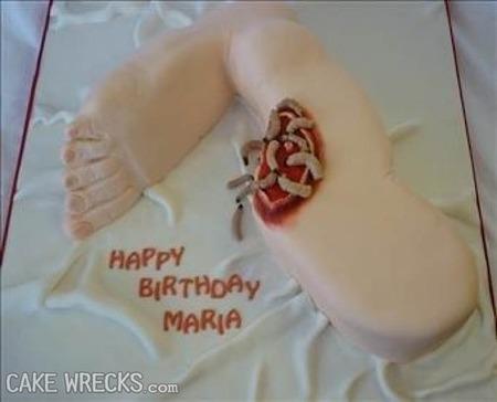 kue organ manusia © cakewrecks.com