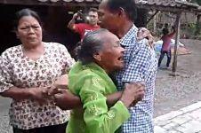 Momen haru pertemuan ibu & anak asal Wonogiri yang terpisah 35 tahun