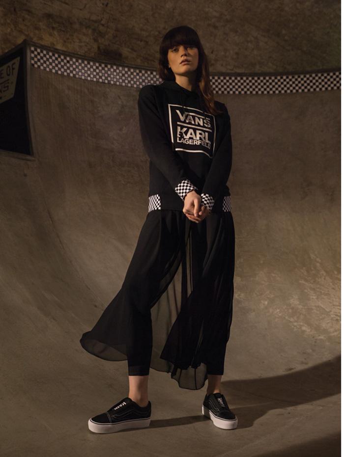 Karl Lagerfeld X Vans  © 2017 berbagai sumber