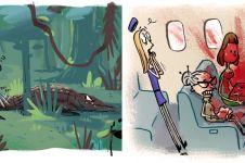 10 Ilustrasi pengalaman peneliti saat kerja lapangan ini bikin salut