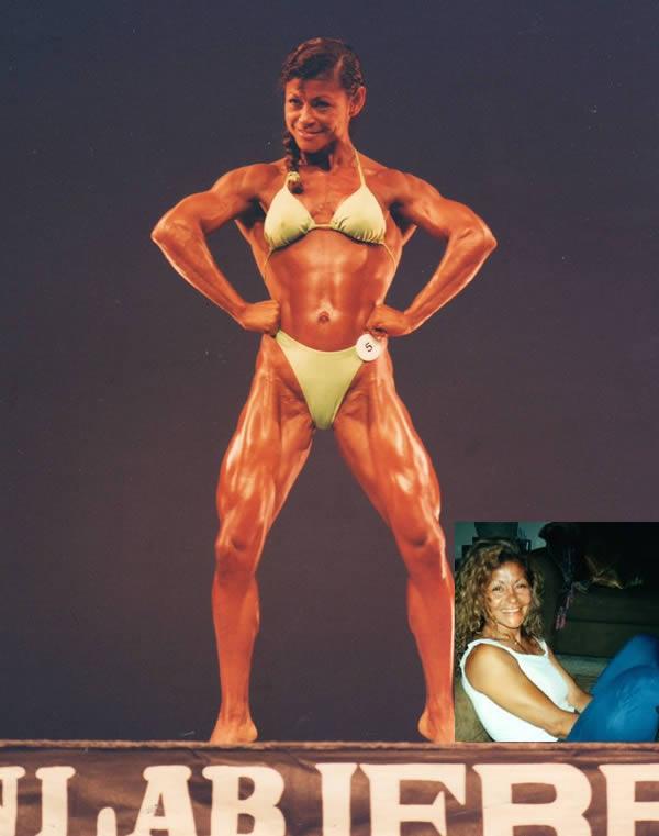 8 wanita ini memakai steroid bentuk tubuhnya berubah
