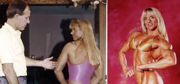 8 Wanita ini memakai steroid, bentuk tubuhnya berubah mencengangkan