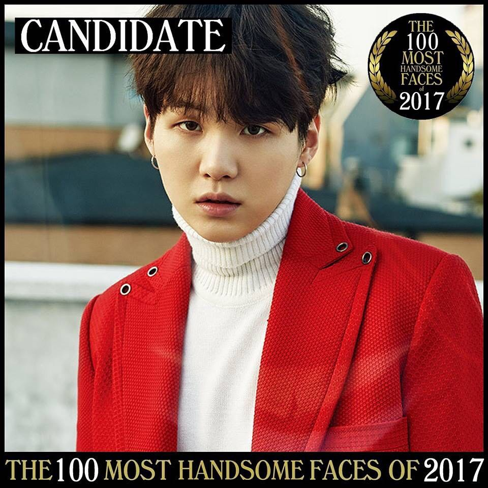 10 Idol K-Pop ini masuk kandidat 'The Most Handsome Face 2017'