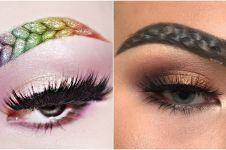 Braided brows, tren alis 'dikepang' yang ngehits & kreatif abis