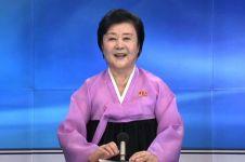 Ri Chun-hee, penyiar nyentrik Korut khusus berita uji coba nuklir