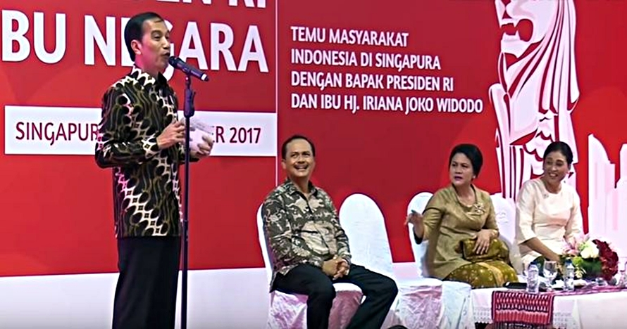Iriana resah lihat rambut Presiden Jokowi tak rapi, kocak romantis
