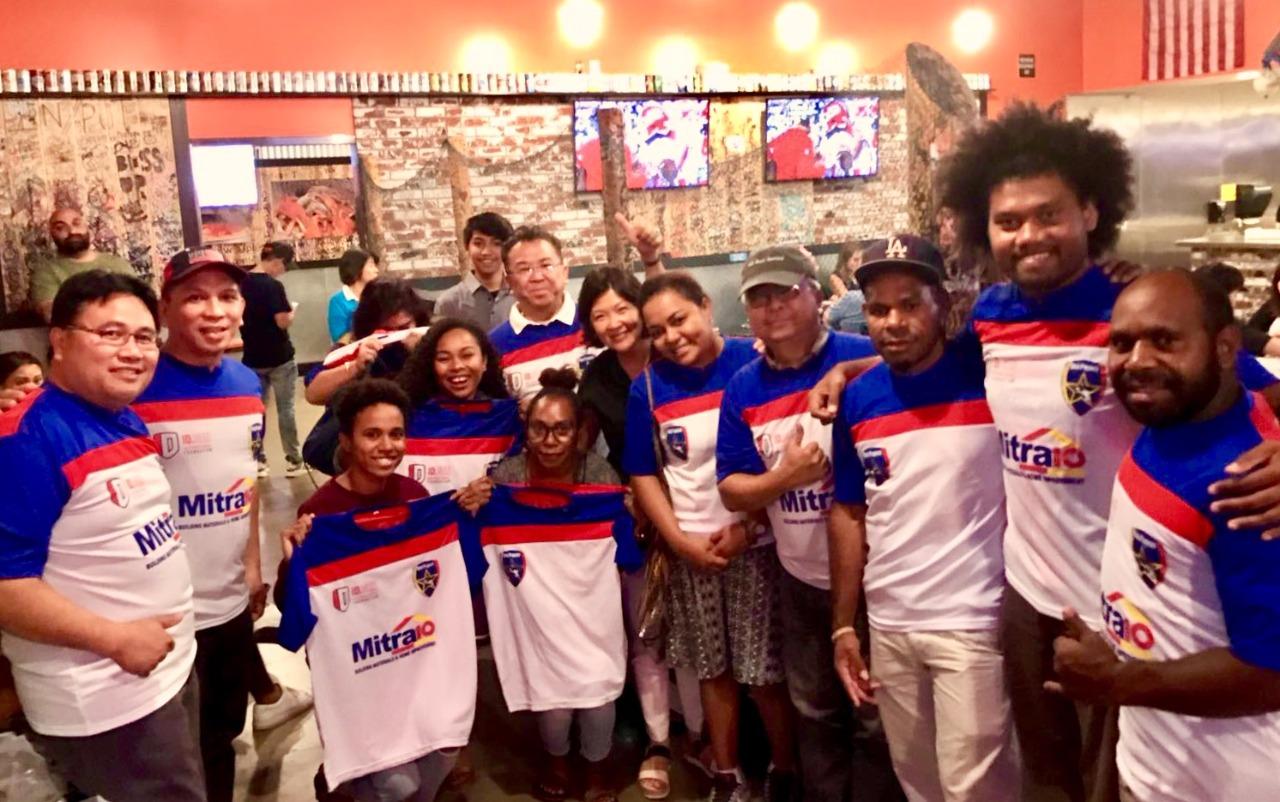 Komunitas sepak bola sosial Indonesia kejutkan publik Paman Sam