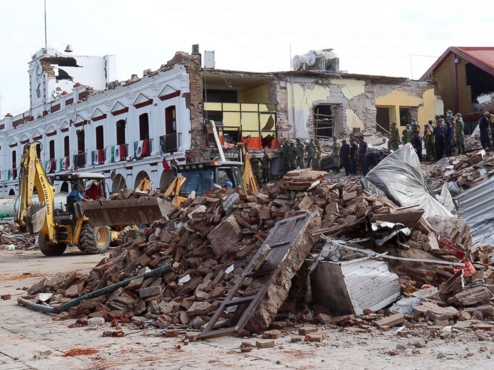 Gempa Meksiko © Berbagai sumber