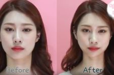 Cewek Korea sedang hobi selotip wajah demi muka yang lebih tirus