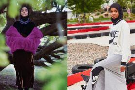 5 Inspirasi outfit ala model berhijab dunia, Halima Aden