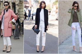 6 Tips pakai celana jeans putih yang bikin tampilan makin stylish