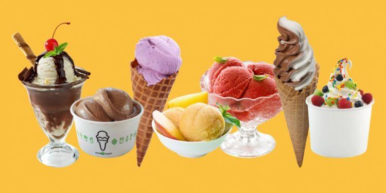 Sering salah kaprah, ini lho beda es krim, gelato, dan sorbet