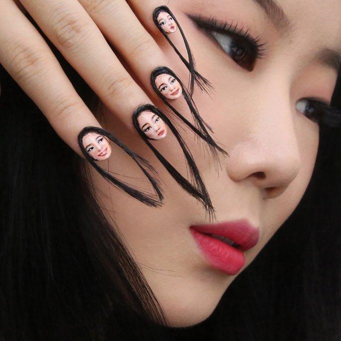 hair nails dain yoon  © 2017 berbagai sumber