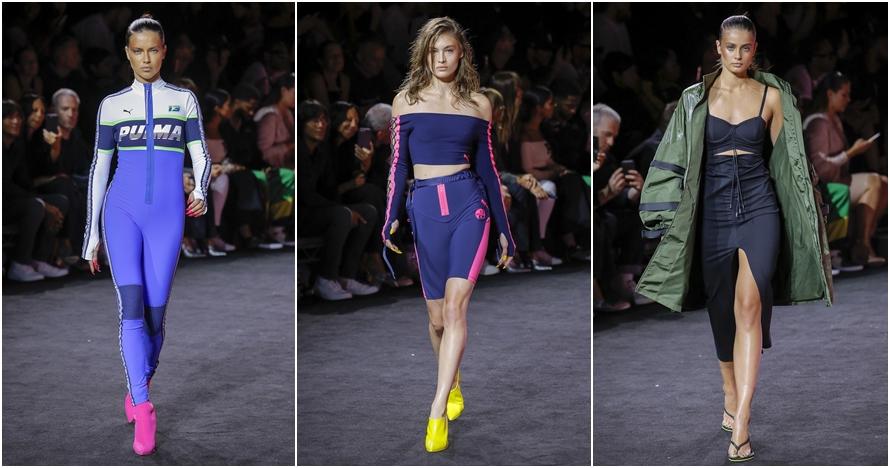 Intip koleksi Fenty X Puma Ready-To-Wear di New York Fashion Week 2017