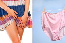 7 Bahaya ini mengintaimu yang malas ganti celana dalam