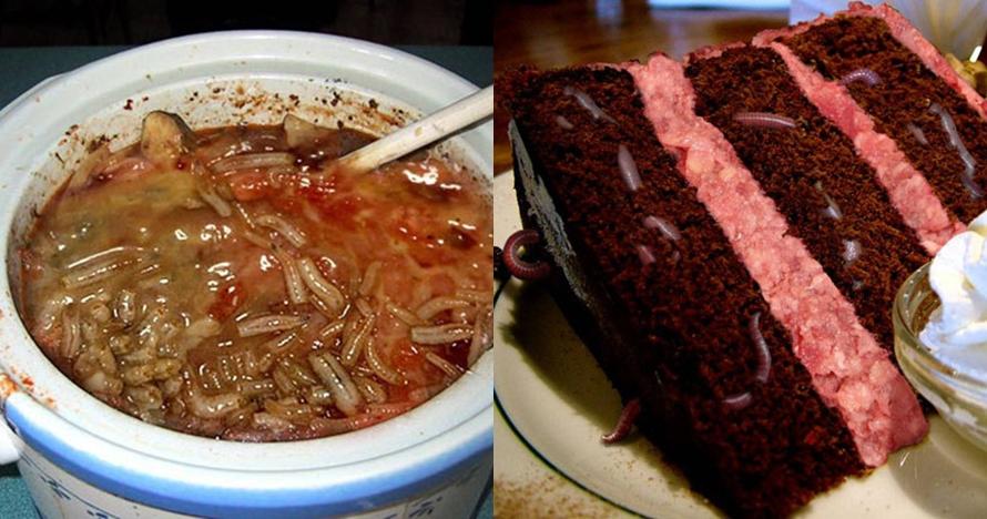 8 Editan foto makanan ini bak sarang hewan menjijikkan