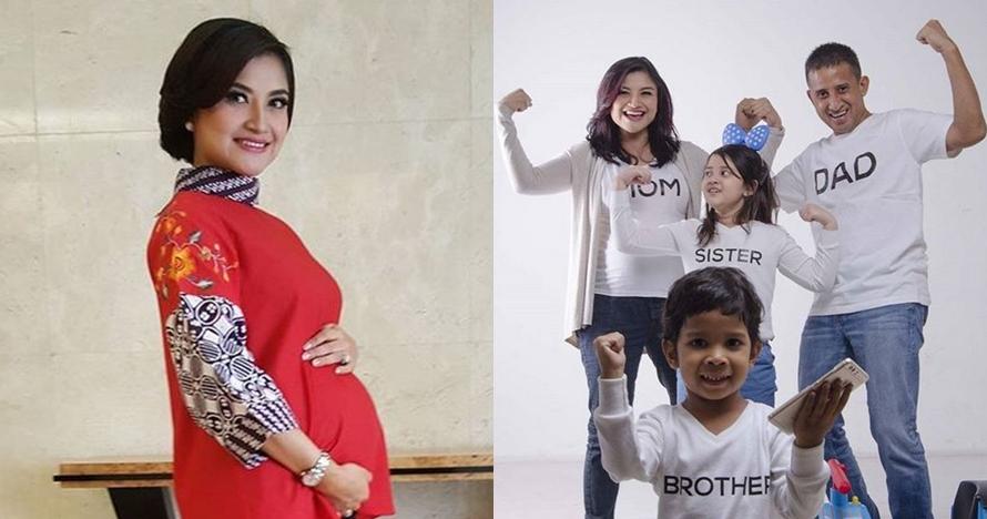 15 Gaya Tina Talisa saat hamil anak ketiga, tetap cantik memesona