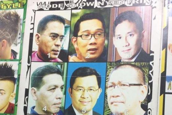 Ridwan Kamil unggah model rambut para publik figur, siapa ternyentrik?