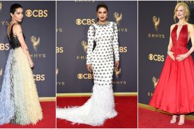 18 Penampilan fashion terbaik di red carpet Emmy Awards 2017