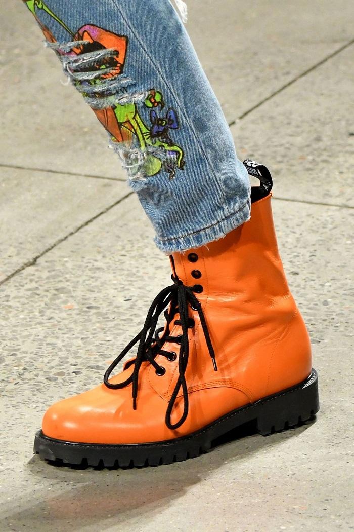 sepatu terhits nyfw 2017  © 2017 berbagai sumber