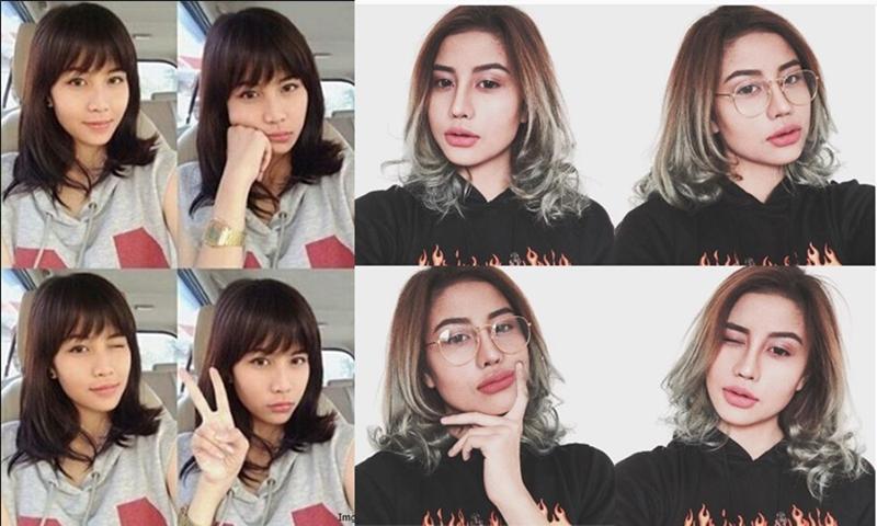 perubahan drastis bentuk bibir seleb cantik © 2017 instagram