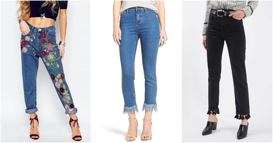 4 DIY jeans ini bikin celanamu seperti brand ternama, cobain yuk