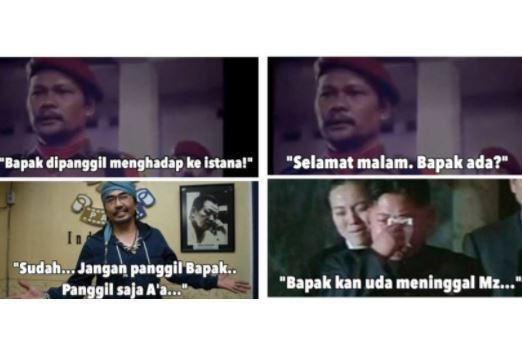 10 Meme scene film G30S/PKI generasi milenial ini bikin senyum sendiri