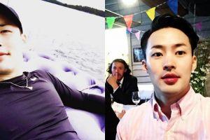 10 Foto gantengnya Mihawk Back, sosok di balik dance keren idol K-Pop